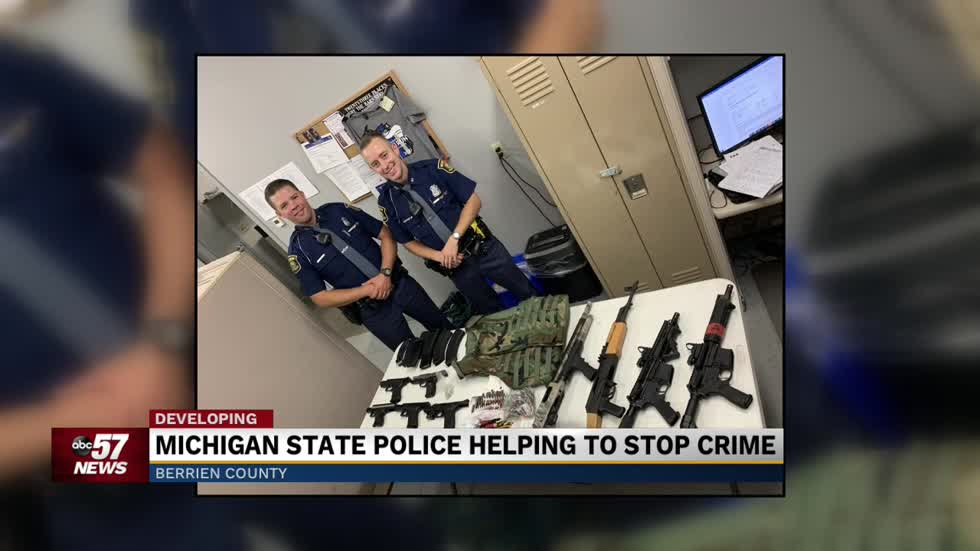 MSP troopers helping get guns off Benton Harbor streets